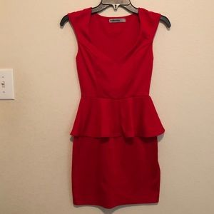 BaileyBlue Red Dress